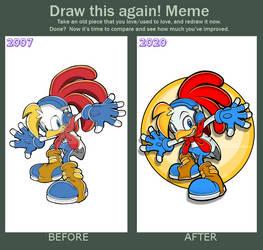 Meme: Draw This Again 2020 - Billy Hatcher