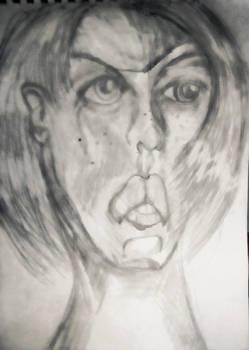 Inktober face