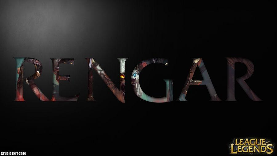 Wallpaper Rengar League Of Legends By Black Adrac Star On