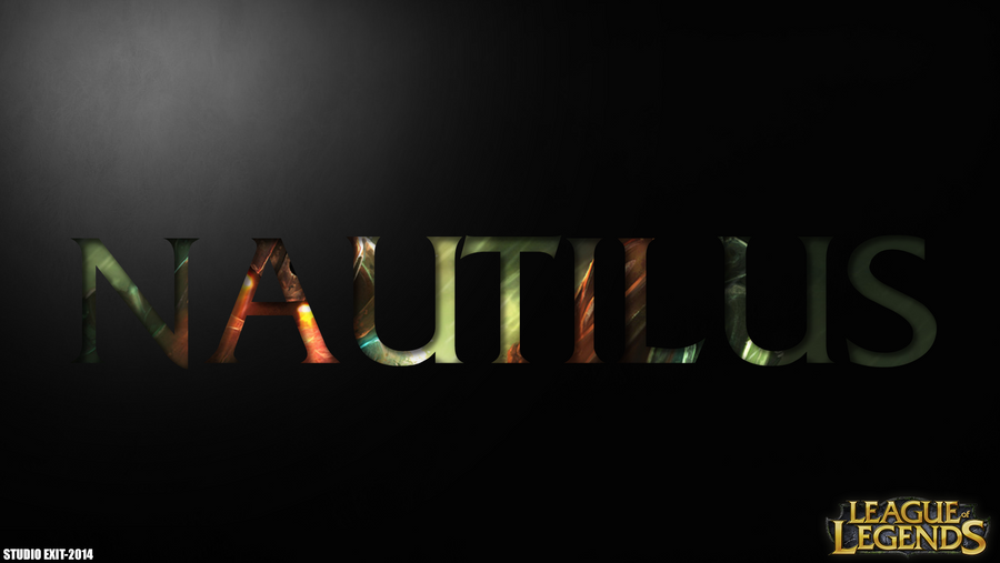 Wallpaper Nautilus League Of Legends By Black Adrac Star
