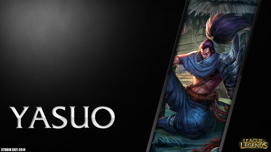 Wallpaper Yasuo League Of Legends By Black Adrac Star On