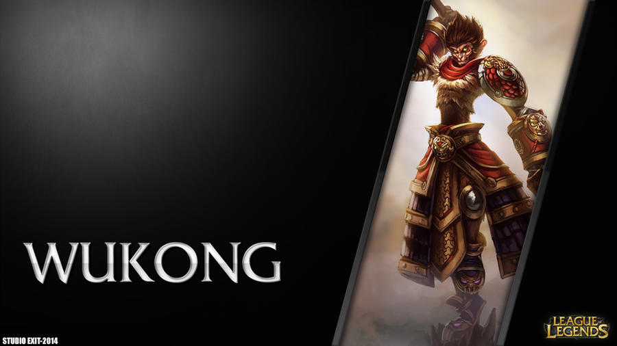 Wallpaper Wukong League Of Legends By Black Adrac Star