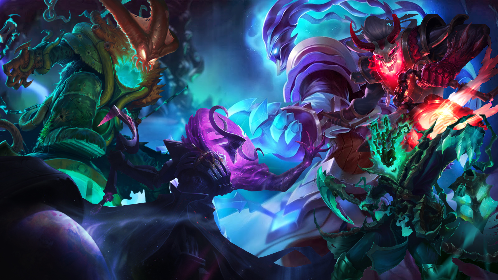 Thresh wallpaper by reihinox on deviantart for Deviantart wallpaper