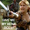 Gab's Xena Doll by demoka
