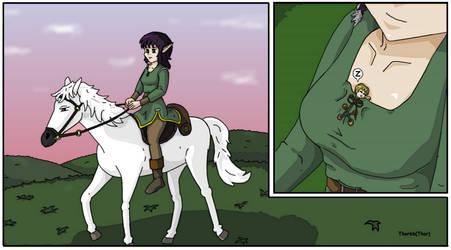Giantess Elf Princess and Her Tiny Knight 4 by AmyGiantess