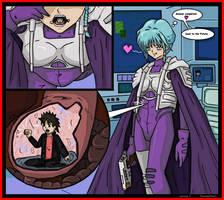 Anime Giantess Vores Tiny Man by AmyGiantess