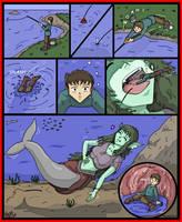 Giantess Vore Fishing by AmyGiantess