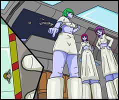 Giantess Aliens Love Humans 2 by AmyGiantess