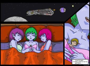 Giantess Aliens Love Humans 3 by AmyGiantess