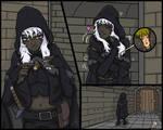 Giantess Dark Elf Shrink 2 by AmyGiantess