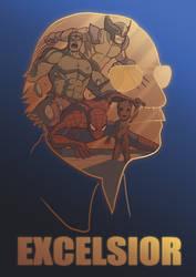 Stan Lee tribute by Ninnis-Art