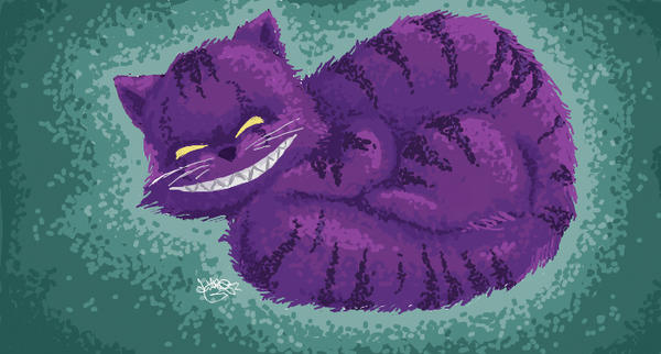 Cheshire smile by dikka