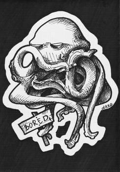 Bored Octopus