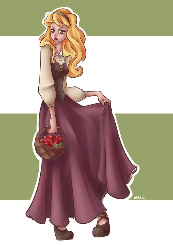 Disney princesses - Aurora by dikka