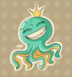 Little nameless octopus