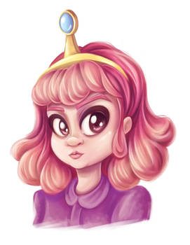 Adventure time fan art - Princess Bubblegum