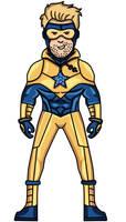 Booster gold [Earth-27 Fan-art]