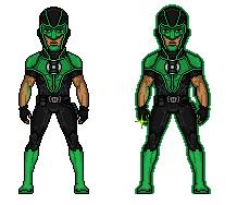 Green Lantern [Simon baz] by dick-grayson-nightwi