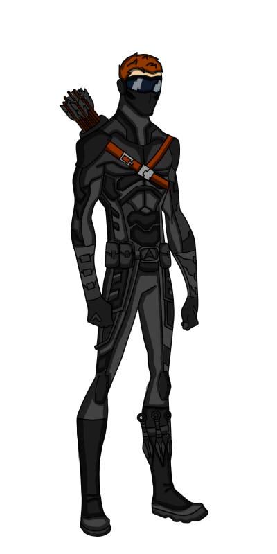 Black Arrow by dick-grayson-nightwi