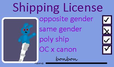 Bonbon2131s Shipping Licence by bonbon2131