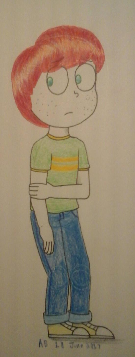 Ol' Billy Freckles by indigobunny99