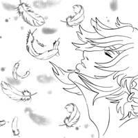 Dreamlike Line Art by Jobi-WanKenobi