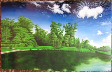 Virtual nature by Zahorbenskyi