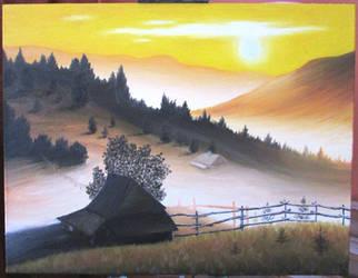 Carpathian nature by Zahorbenskyi