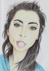 Jasmine Thompson by Zahorbenskyi