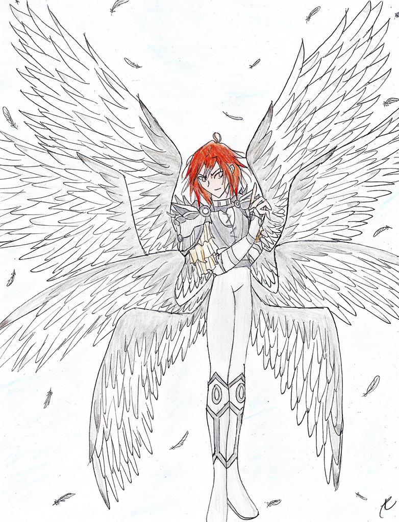 Archangel Avo by Opal-Heart126