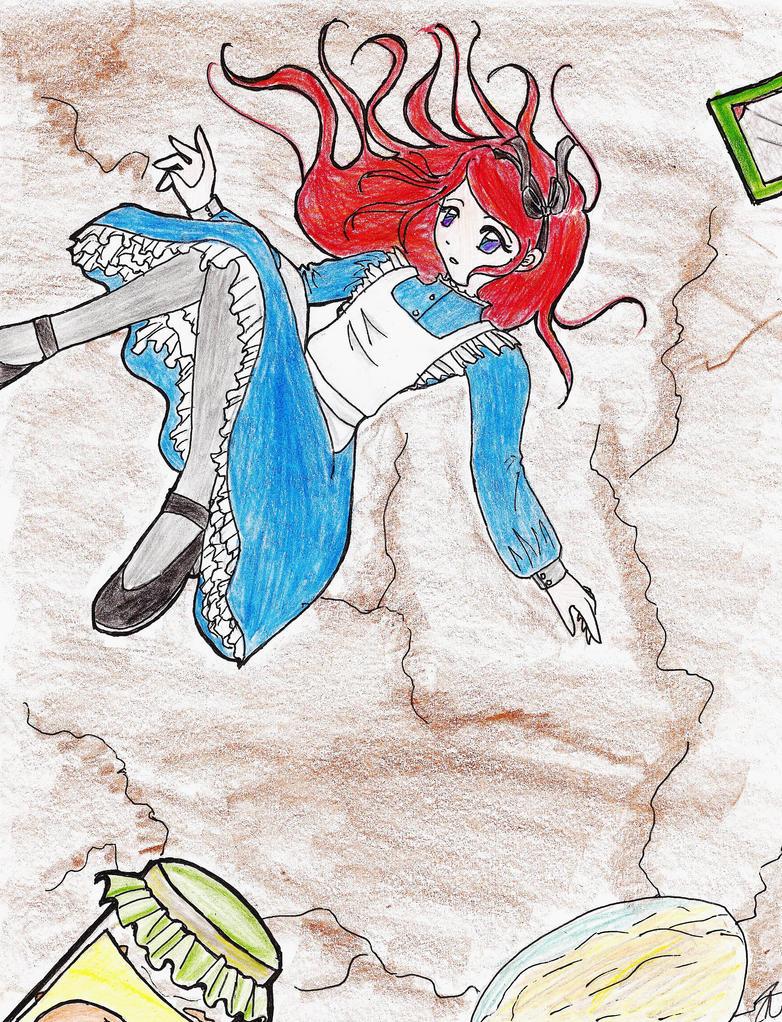 Alice's Fall by Opal-Heart126