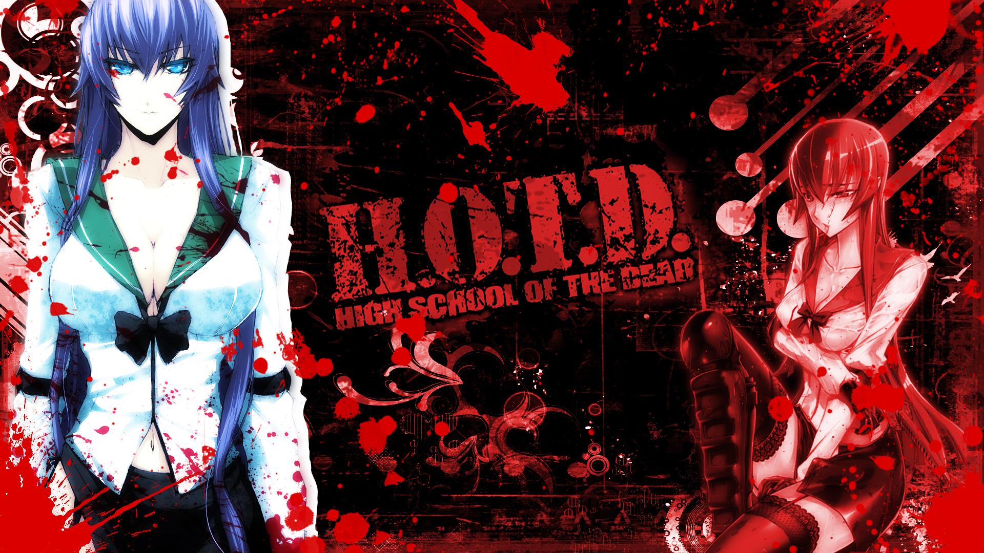 Highschool Of The Dead Wallpaper Hd