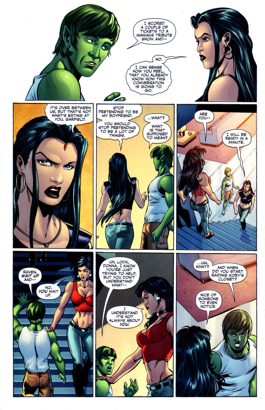Raven Superhero And Beast Boy Raven Rejects Beast Boy