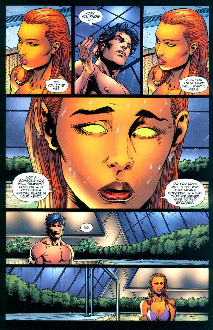 Starfire-Nightwing BROKE UP by AnaliaRachelRoth