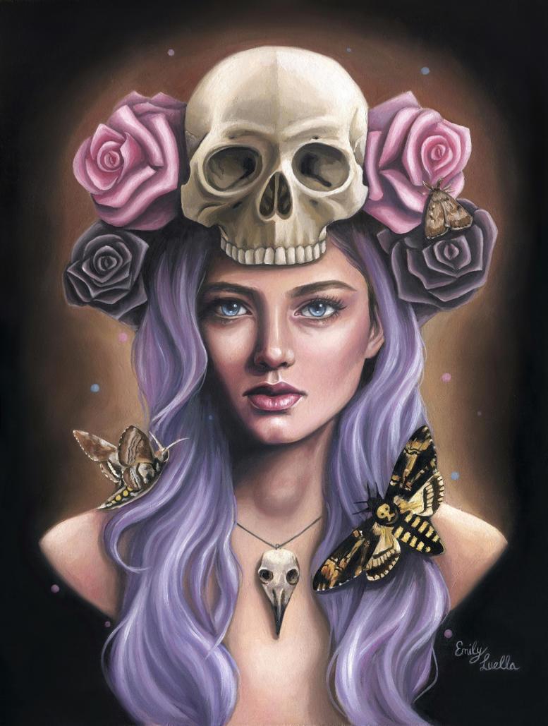 Death's Head by Emily-Luella