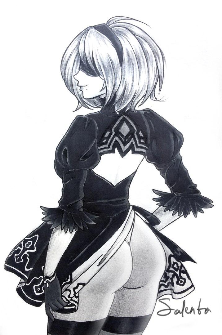 Nier: Automata by Salenta