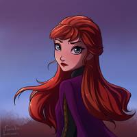 Anna Frozen 2 by Salenta