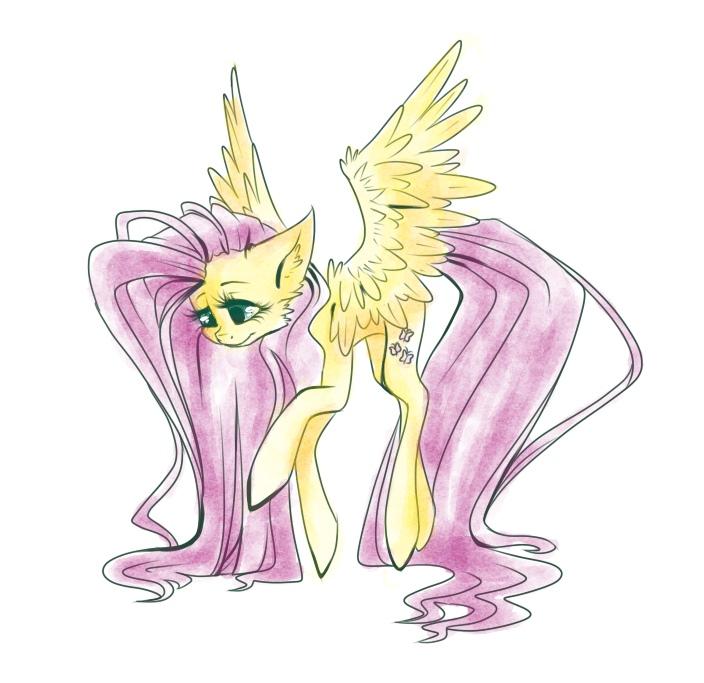 Fluttershy by HarmoniousRain