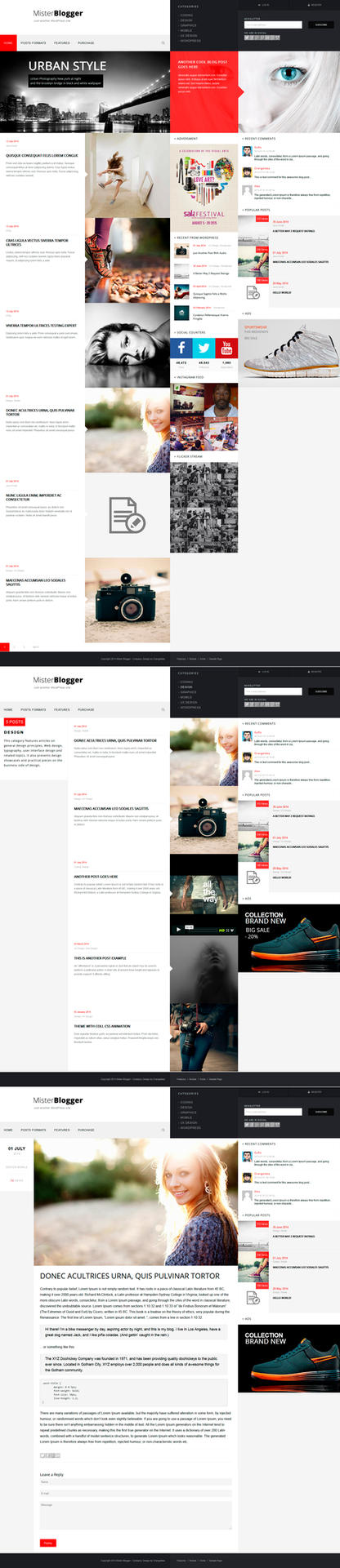 MisterBlogger - Blog/Magazine WordPress Theme by OrangeIdea
