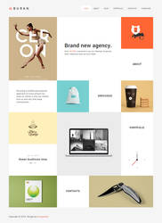 BURAN - Smart Portfolio and Business Theme