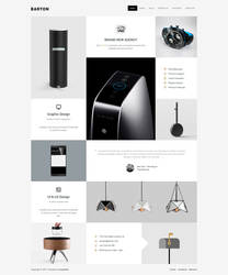 BARTON - Smart Portfolio Theme for Creative People