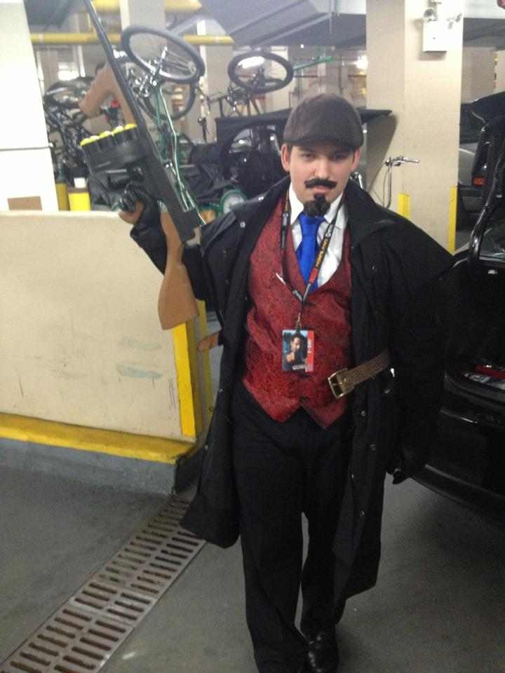 Mafia Graves Cosplay by JamesyBeanZ