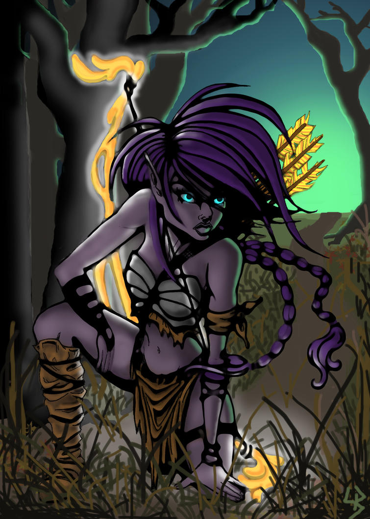 Hunting By Night by LeelaB