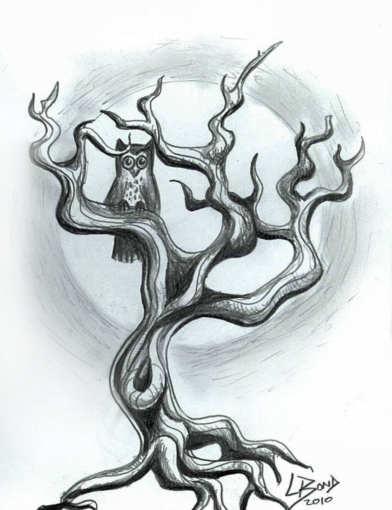 owl tree by leelab on deviantart