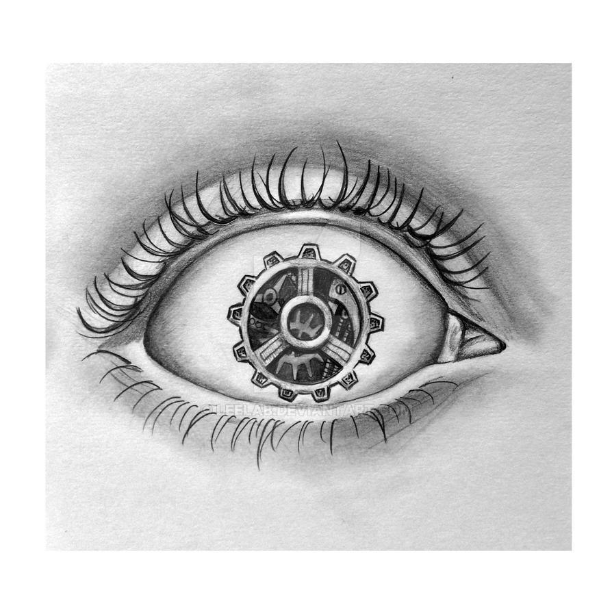 Steam Punk Eye by LeelaB