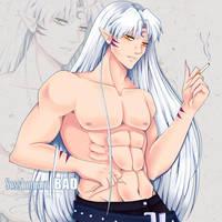 Sesshomaru Bad by AngelicFoXus