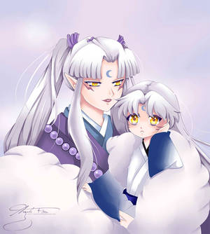 Sesshomaru And His Mom