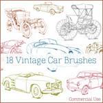 Vintage + Classic Car Brushes