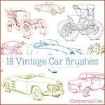 Vintage + Classic Car Brushes