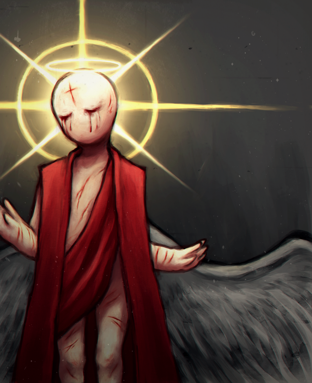 Gabriel( The Binding Of Isaac: Rebirth ) By Traicere On